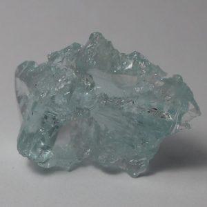 Aquamarine Crystal Etched